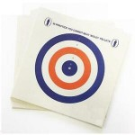 Bisley Grade 1 Coloured Targets 17cm x 17cm QTY: 25 Per Pack