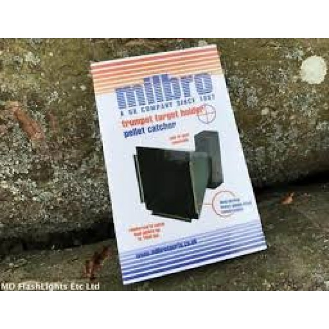 Milbro Trumpet Target Holder/Pellet Trap Catcher