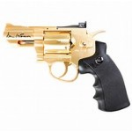 "Dan Wesson 2.5"" CO2 Powered Revolver 4.5mm BB - Gold"