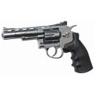 "Dan Wesson 715 -  4"" CO2 Powered Revolver - Silver"