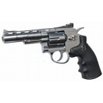 "Dan Wesson 715 -  4"" CO2 Powered Revolver - Silver"