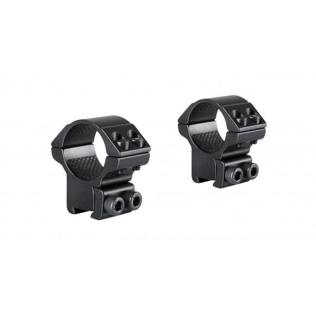 "Hawke Match Ring Mounts Double Screw 9-11mm 1"" Medium"