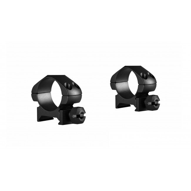 """Hawke Precision Steel Ring Mounts Weaver 1"""" With Nut Low"""