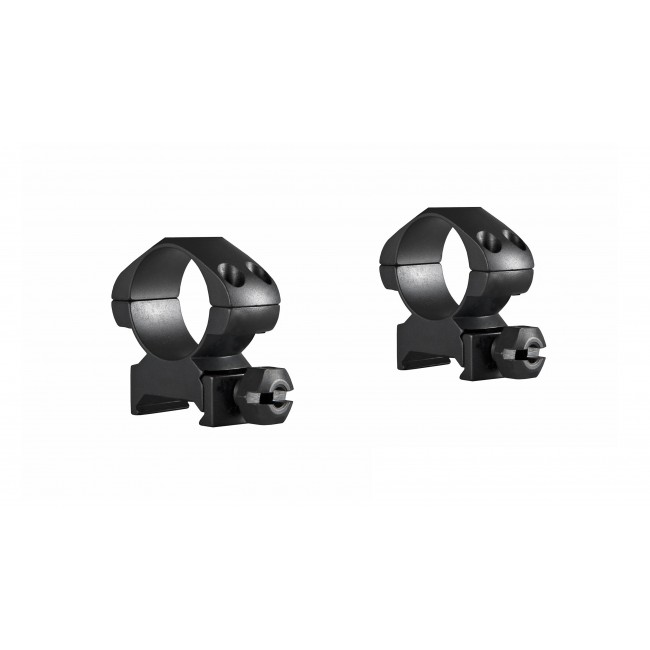 "Hawke Precision Steel Ring Mounts Weaver 1"" With Nut Medium"