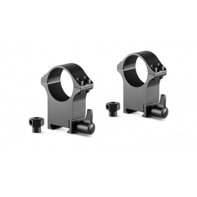 Hawke Professioanl Steel Ring Mounts Weaver 30mm Extra High