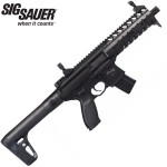 Sig Sauer MPX Black AirGun - .177 Semi Automatic 30 Shot Rifle Barrel Air Rifle
